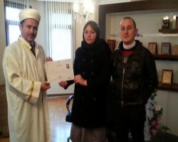 Moldova uyruklu Proscurova müslüman oldu