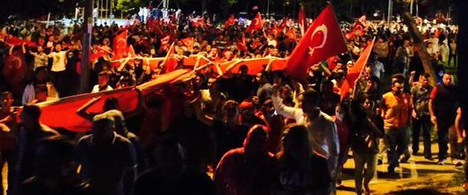 Türkiye ayakta... Beykoz ayakta...