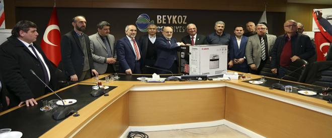 Beykoz Belediyesi muhtarların yazıcısını yeniledi