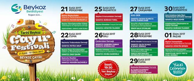 Beykoz Çayır Festivali bugün başlıyor