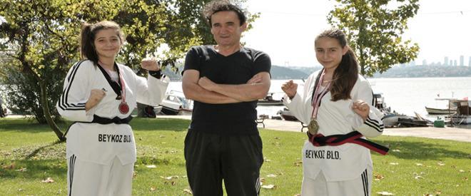 Beykoz'un Altın Kızı Berranur olimpiyat kampında