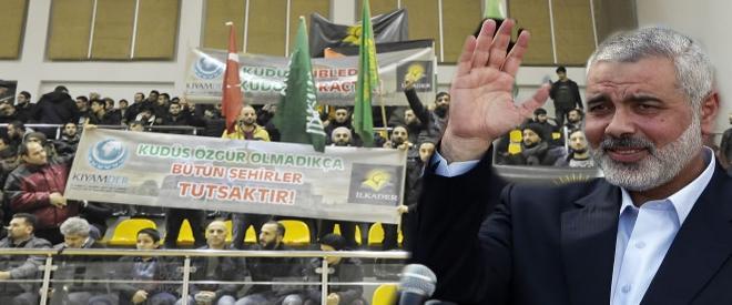 İsmail Heniyye: Kudüs Beykoz halkını selamlıyor