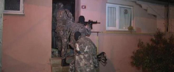 Beykoz Soğuksu Mahallesi'nde uyuşturucu operasyonu