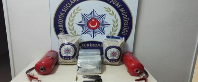 Beykoz'da 10 kilo uyuşturucu ele geçirildi