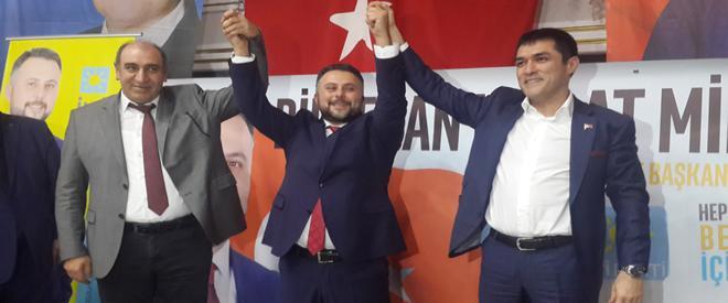 İYİ Parti Beykoz adayını tanıttı… Akşener katılmadı