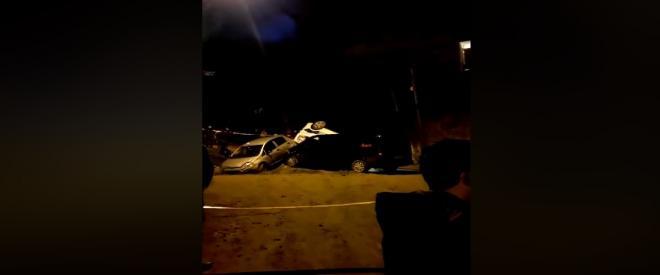 Beykoz sokaklarında polis kovalamacası kaza ile bitti!