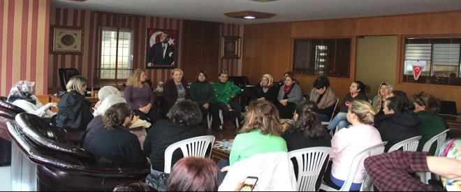 CHP Beykoz adayı Coşkun Tosun'a eş desteği