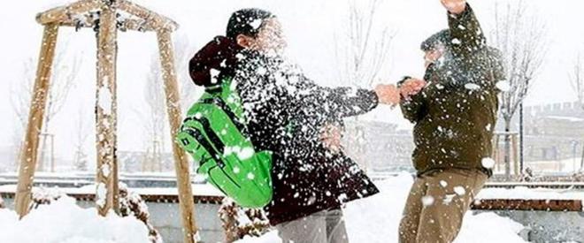 Beykoz okullarında 1 gün kar tatili!