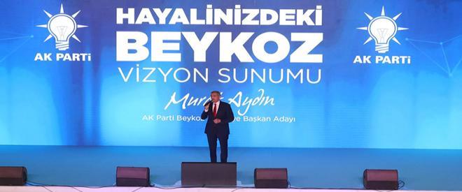 Murat Aydın hayalini kurduğu Beykoz projelerini tanıttı