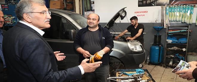 Murat Aydın'dan Beykoz'a oto sanayi sitesi müjdesi