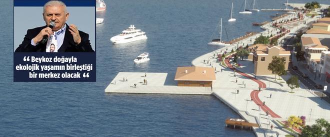İşte İBB adayı Binali Yıldırım ın Beykoz projeleri!