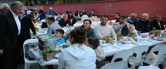 Beykoz Tokatköy halkı oruçlarını birlikte açtı