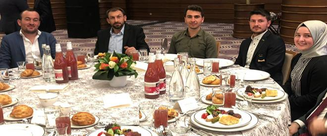 Beykozlu çiftçiler Cumhurbaşkanı ile iftar yaptı