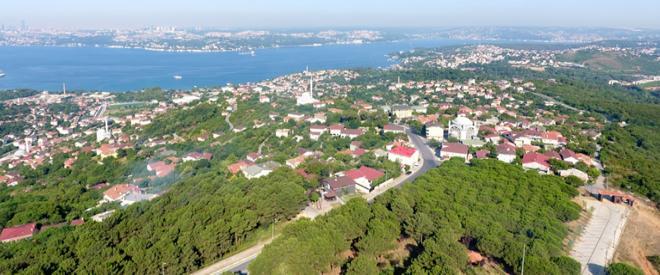 Eşsiz İstanbul manzaralı Beykoz mesire alanı açılıyor