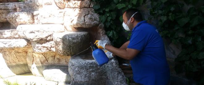 Sivrisinek ile mücadele 45 mahallede sürüyor