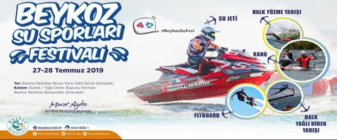 Ödüllü Beykoz Su Sporları Festivali başlıyor