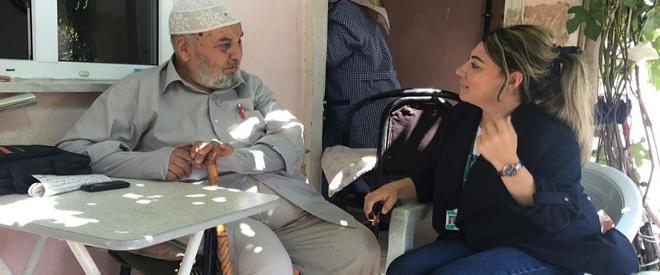 Beykoz'da yaşlı ve ihtiyaç sahiplerinin yüzü gülüyor