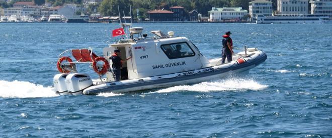 Beykoz'da denize giren iki çocuk akıntıya kapıldı