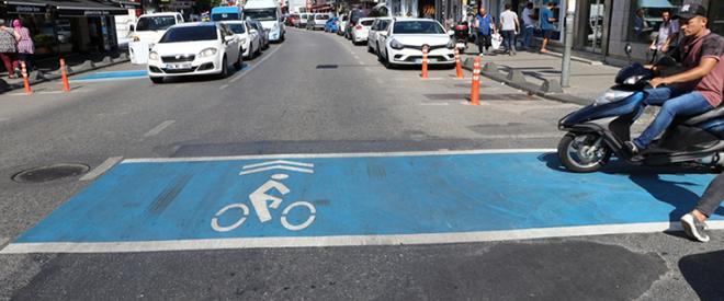 Beykoz da bisikletliler artık daha güvende