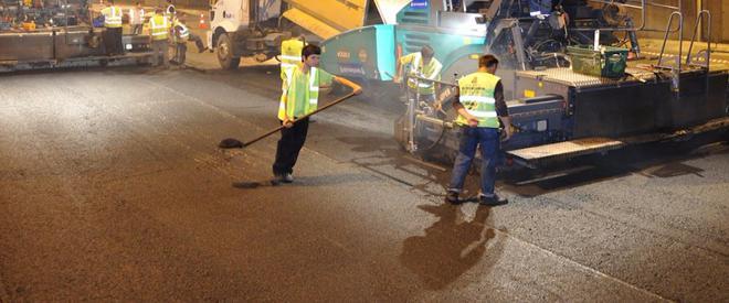 İBB tarafından Beykoz a ne kadar asfalt serilecek?