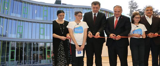 21'inci yüzyılın model ortaokulu Beykoz'da açıldı