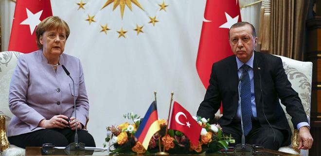 Cumhurbaşkanı Erdoğan ve Merkel Cuma günü Beykoz'da