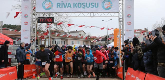 Soğuğa rağmen Beykoz'da 7'den 70'e kıyasıya rekabet