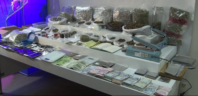 Beykoz'da villaya uyuşturucu operasyonu
