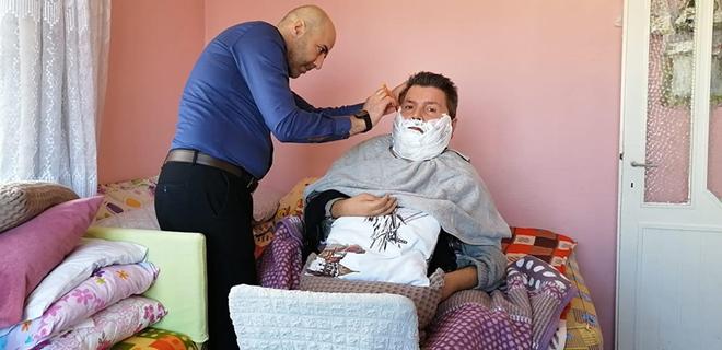Beykoz'da ücretsiz evde kuaför hizmeti başladı