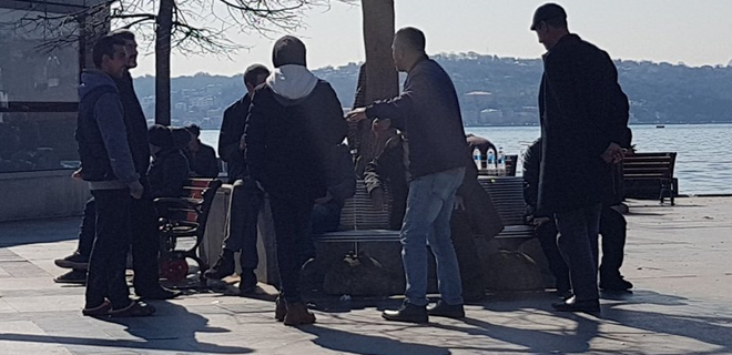 Beykoz'da tüm uyarılara rağmen halk sokağa çıktı