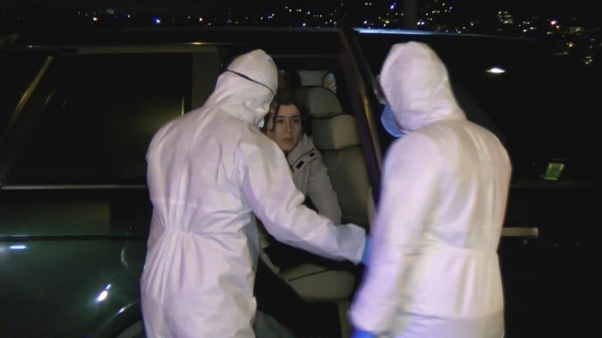 Beykoz'da sağlık çalışanı otomobiliyle denize uçtu