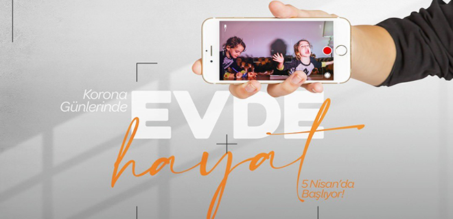 #EvdeKal kısa film ile koronayı anlat Beykoz!