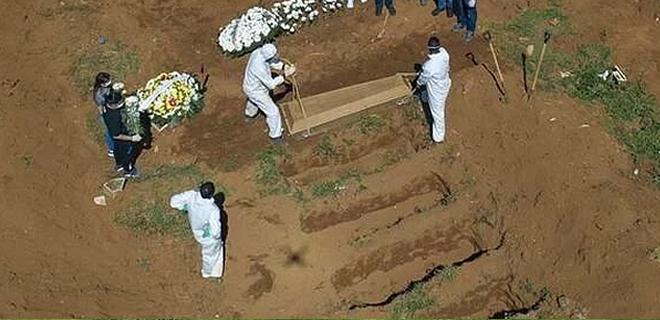 Beykoz korona virüs mezarlığına defin nasıl yapılıyor!