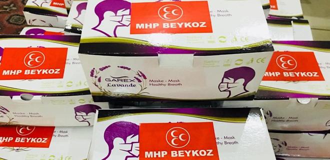 MHP Beykoz'dan 10 bin maske yardımı