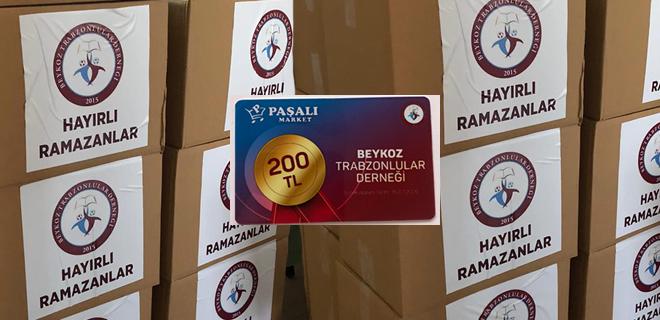 Bir destek de Beykoz Trabzonlular Derneği'nden!