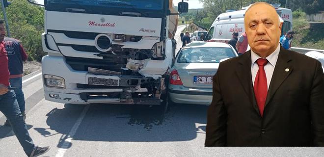 Beykoz şokta… Meclis Üyesi trafik kazasında vefat etti