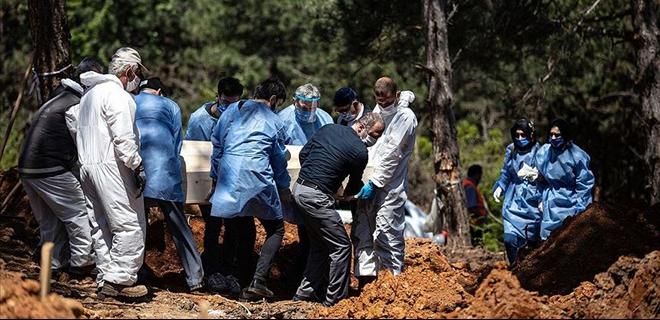 Son günlerde Beykoz'a getirilen cenaze sayısı azaldı!